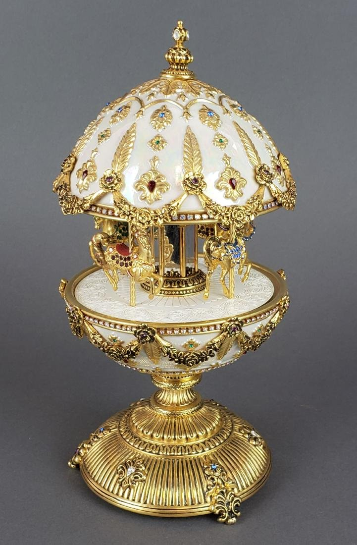 "Faberge "" The Imperial Carousel Egg"" - 2"