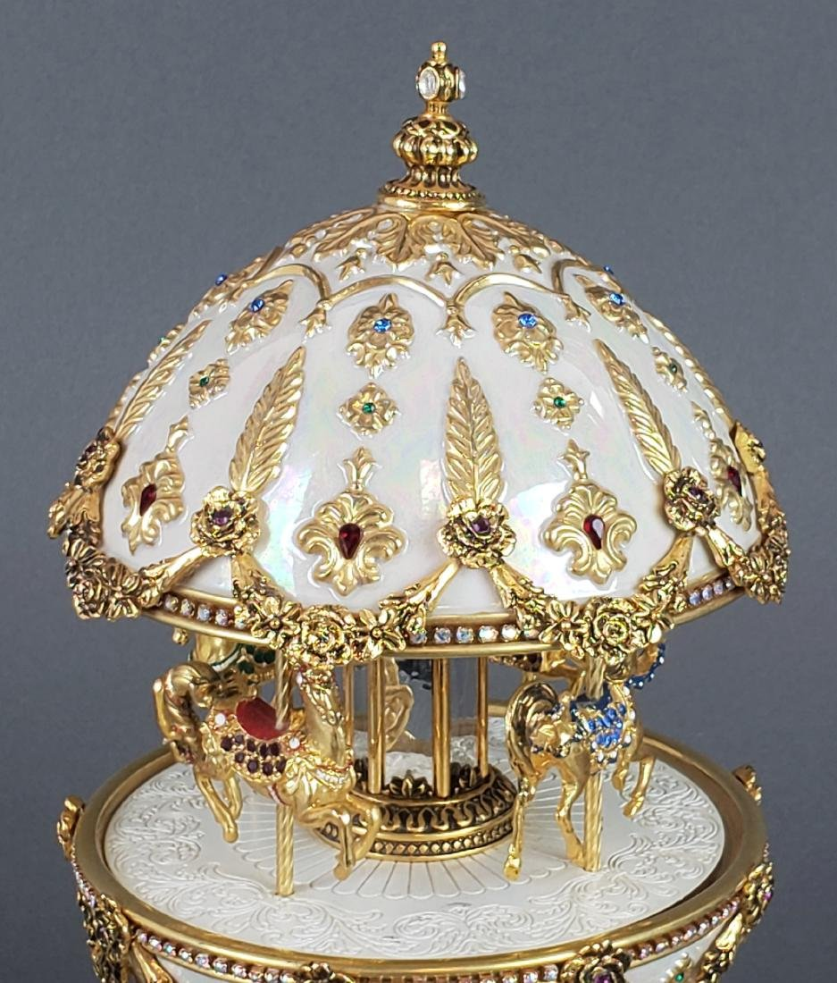 "Faberge "" The Imperial Carousel Egg"" - 3"