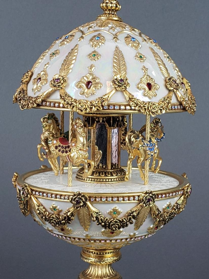"Faberge "" The Imperial Carousel Egg"" - 4"