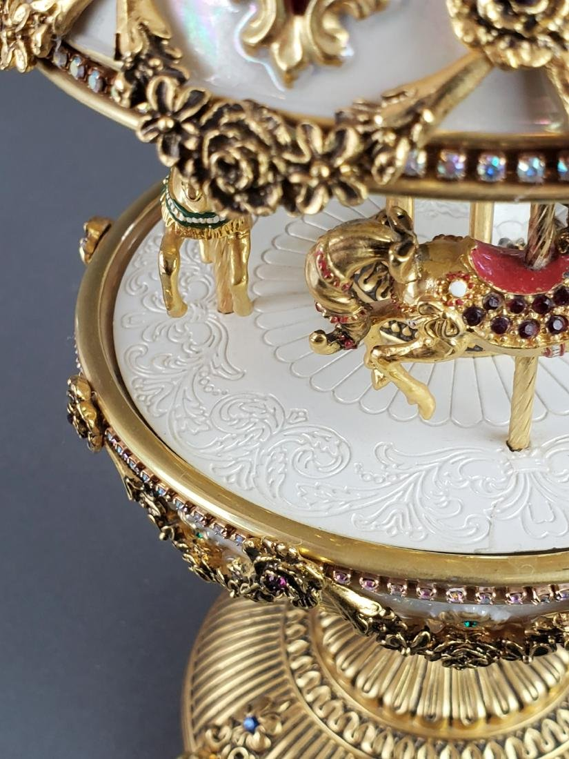 "Faberge "" The Imperial Carousel Egg"" - 8"