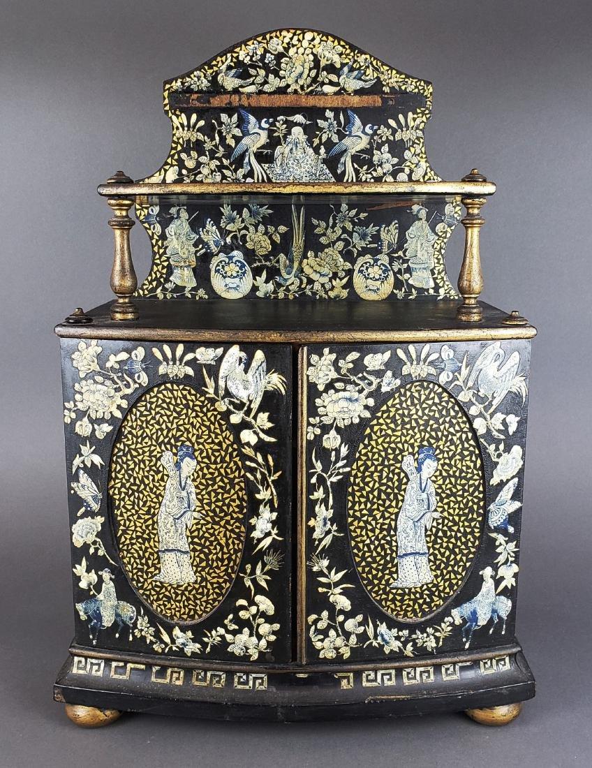 Chinese Wooden Large Jewelry Box