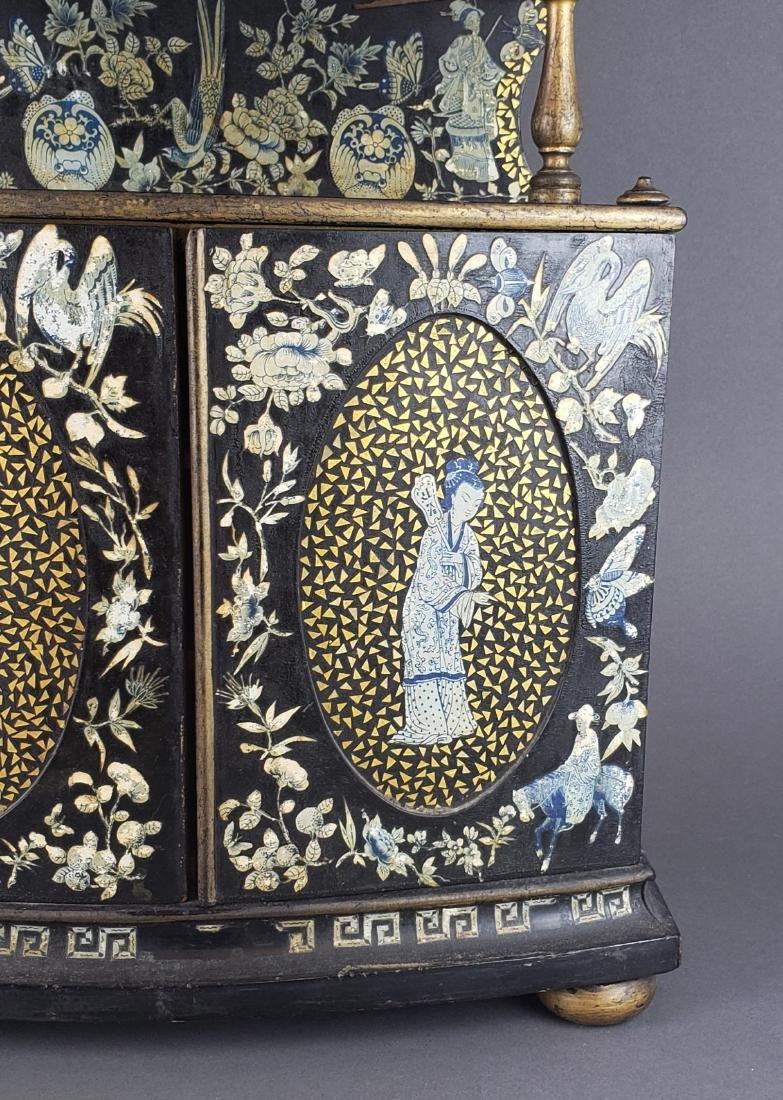 Chinese Wooden Large Jewelry Box - 3