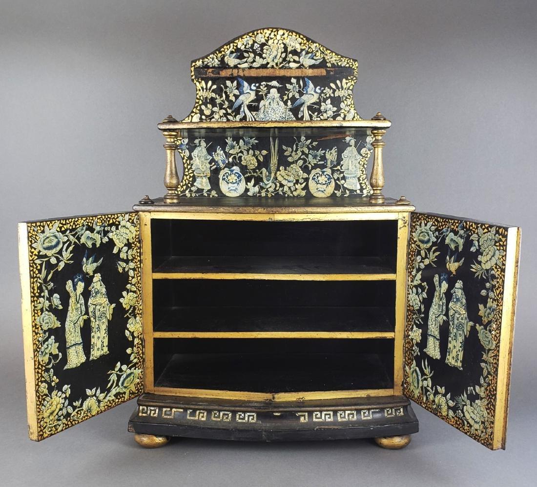 Chinese Wooden Large Jewelry Box - 5