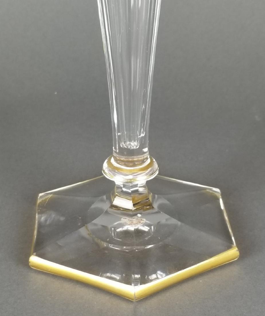 French Baccarat/ Moser Crystal Vase - 3