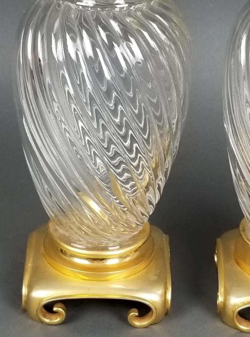 Pair of Baccarat Vases - 3