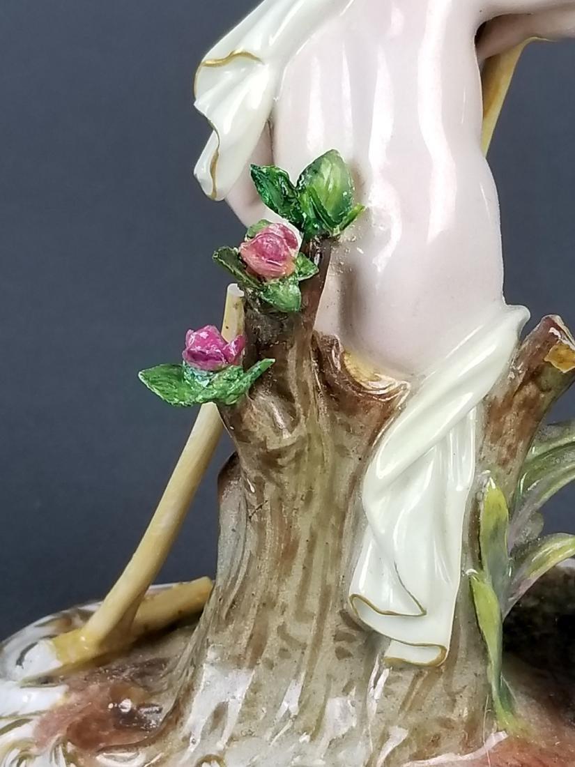 19th C. Meissen Figure of Gardener - 5
