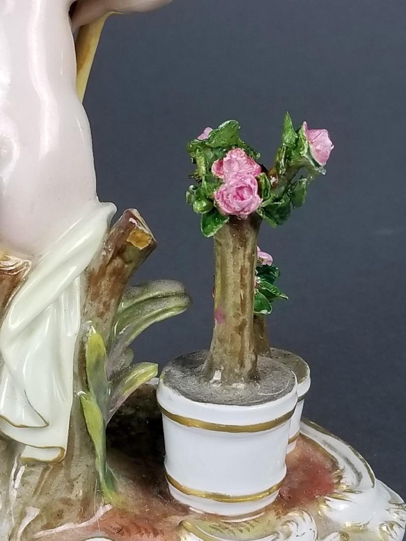 19th C. Meissen Figure of Gardener - 6