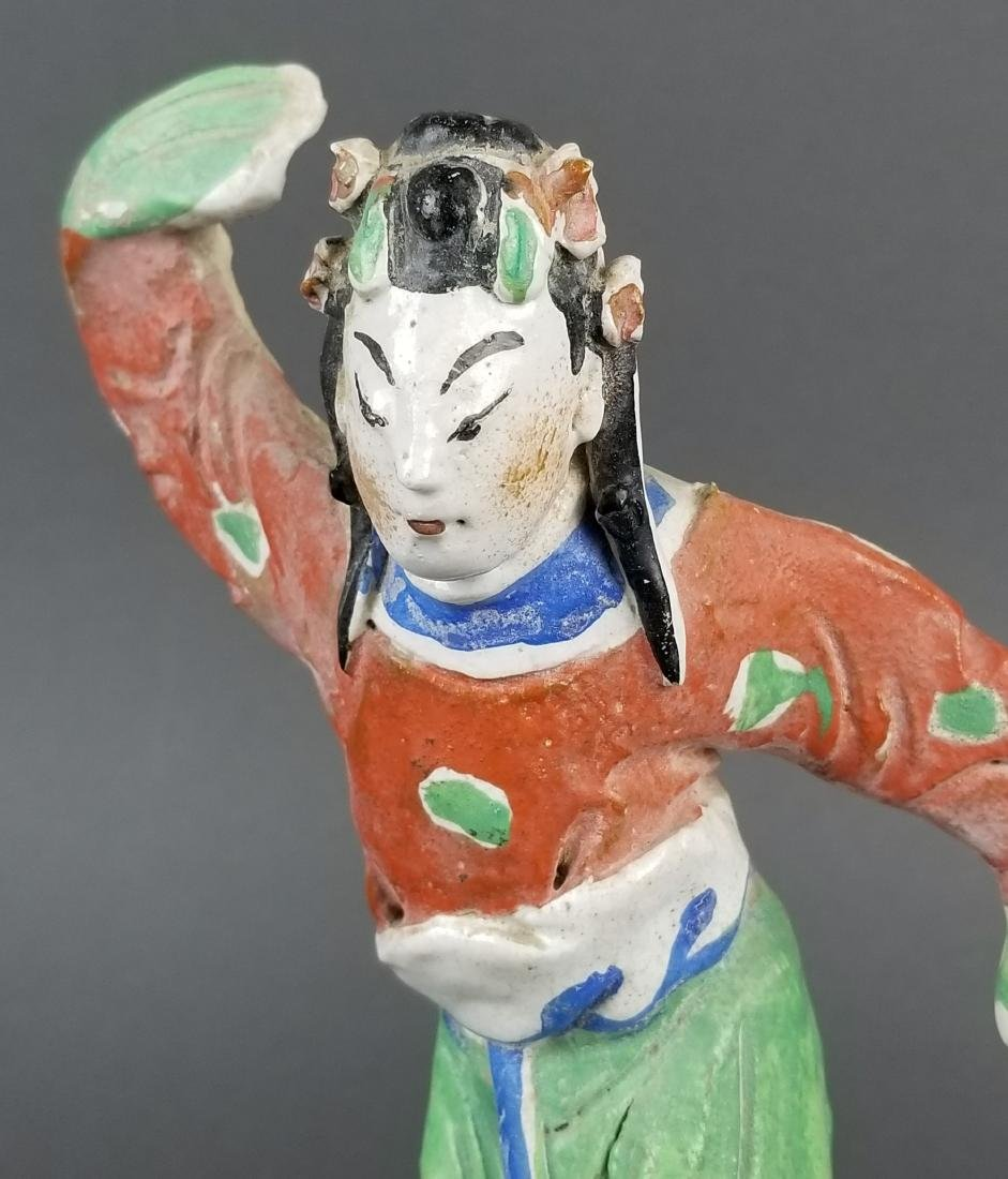 Pair of Japanese Porcelain Figurines - 6