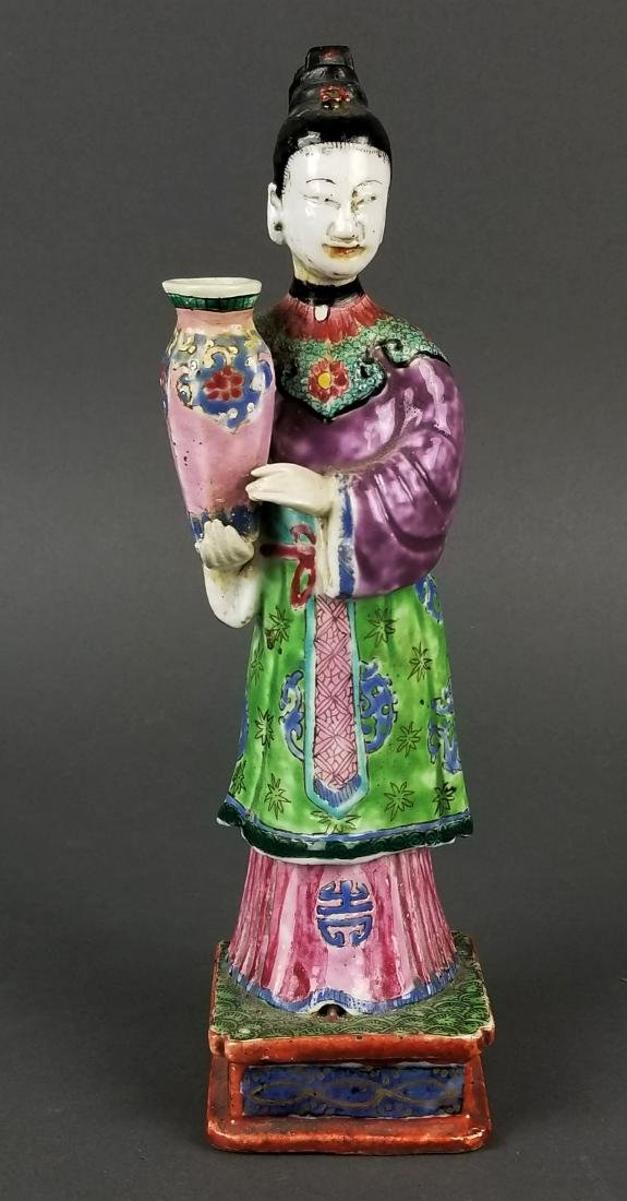19th C. Chinese Porcelain Figure