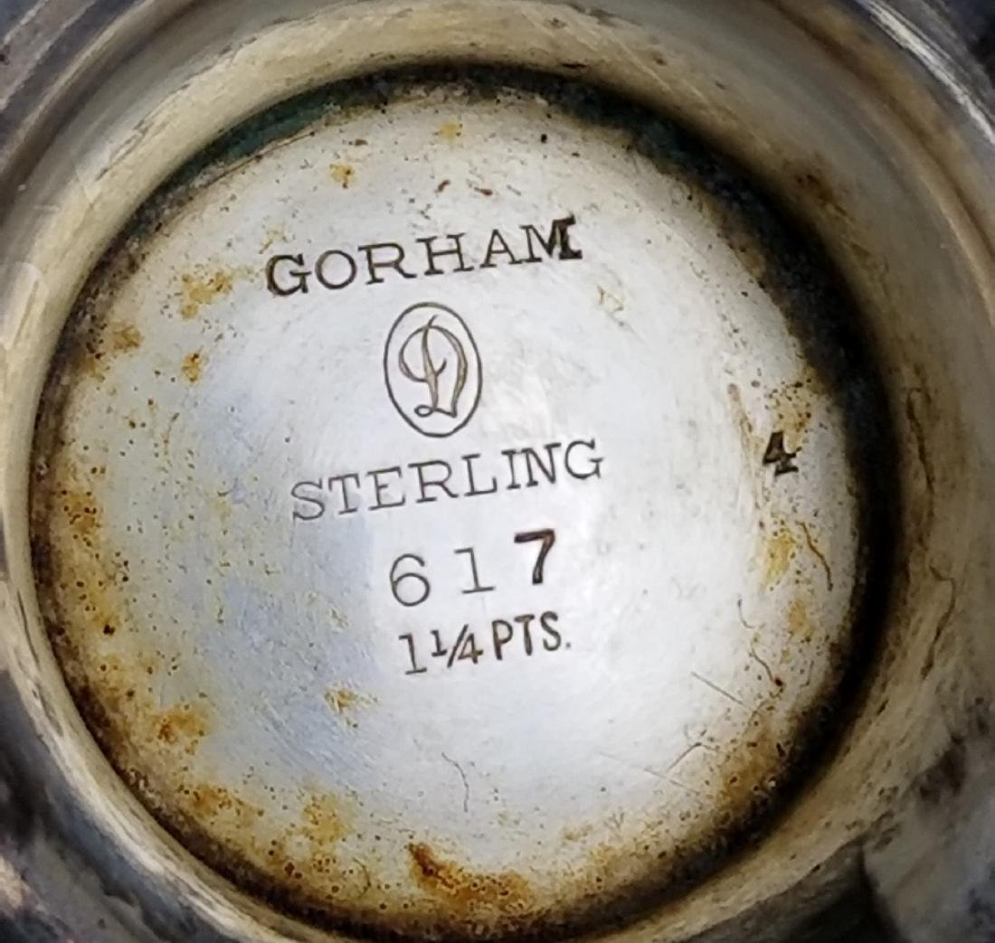 Set of 3 Misc Sterling Silver Teaset - 6