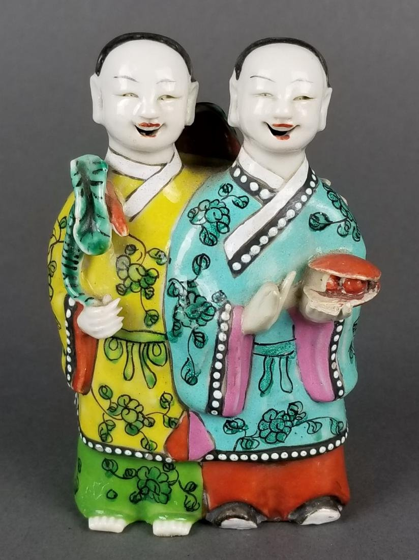 19th C. Japaenese Porcelain Figural Group