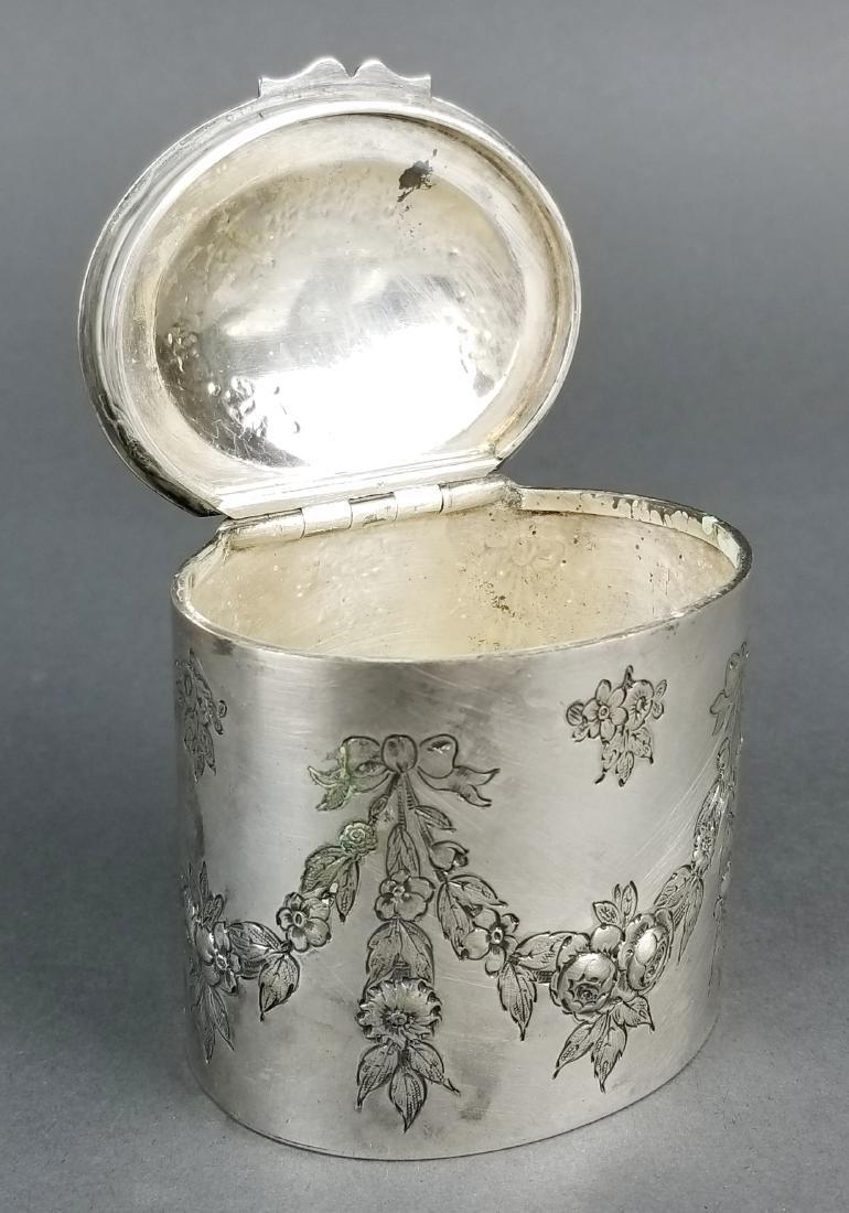 German Silver Till Box - 4