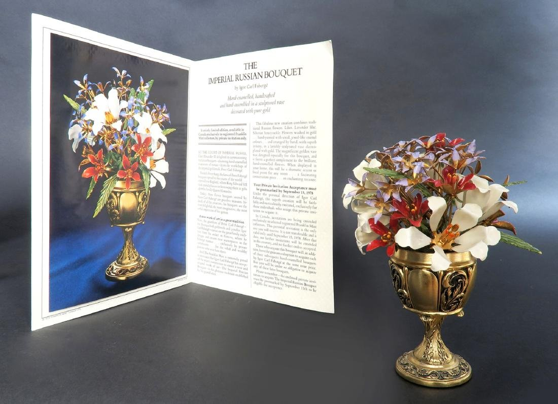 """Fabergé """"Imperial Bouquet"""" signed by Igor Carl Faberge - 2"""