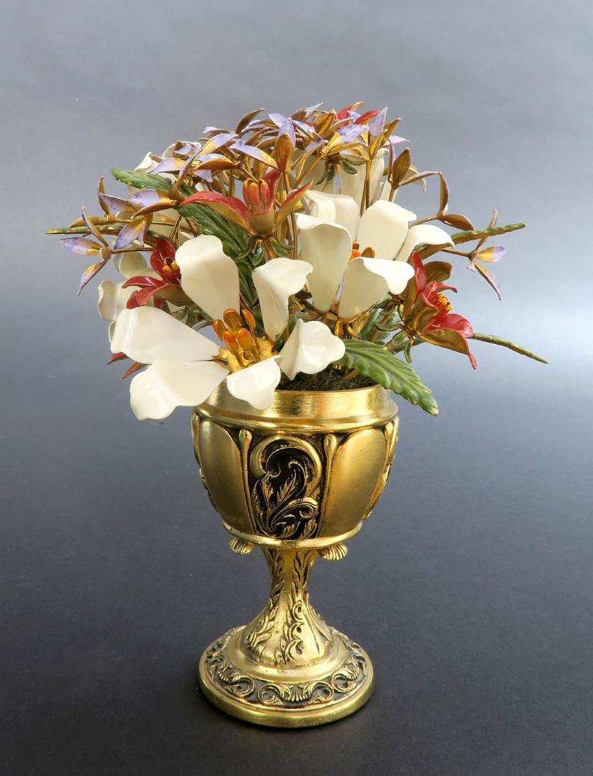"""Fabergé """"Imperial Bouquet"""" signed by Igor Carl Faberge - 3"""