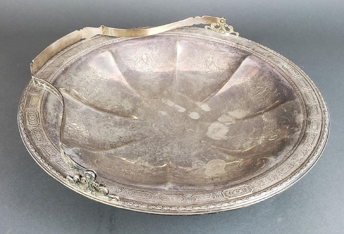 Sterling Silver Tray with Handle - 2