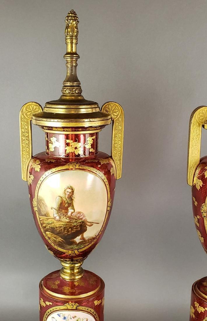 Pair of Bohemian Lamps - 2