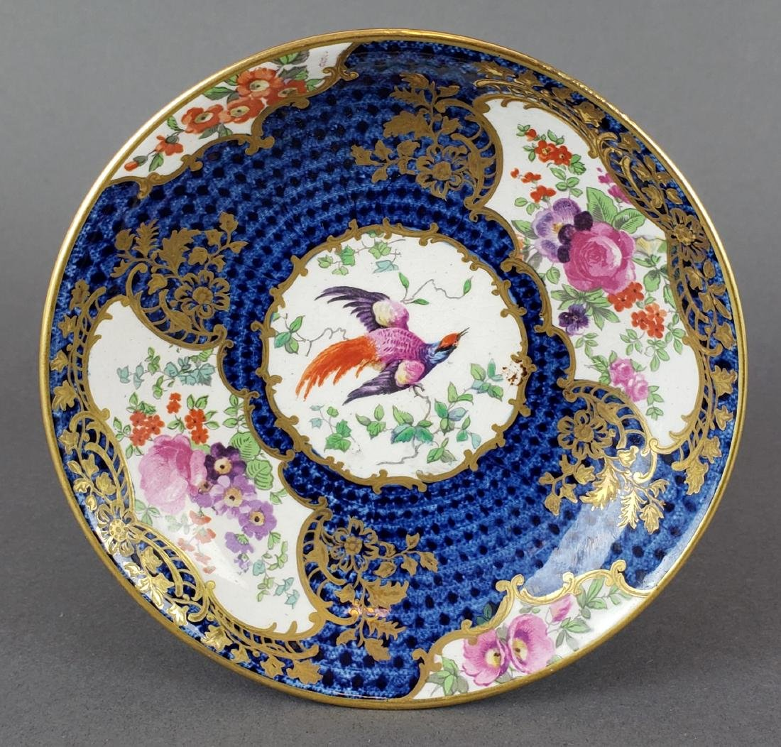 English Porcelain Cup and Saucer - 2