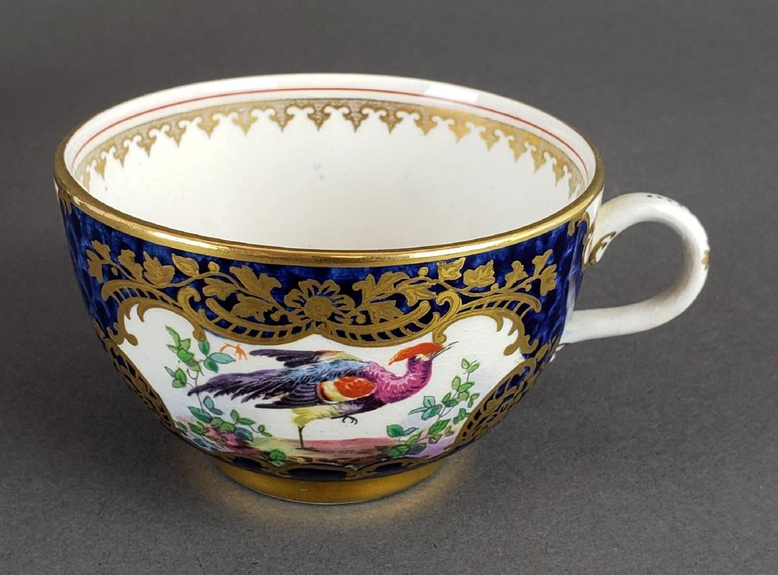 English Porcelain Cup and Saucer - 5