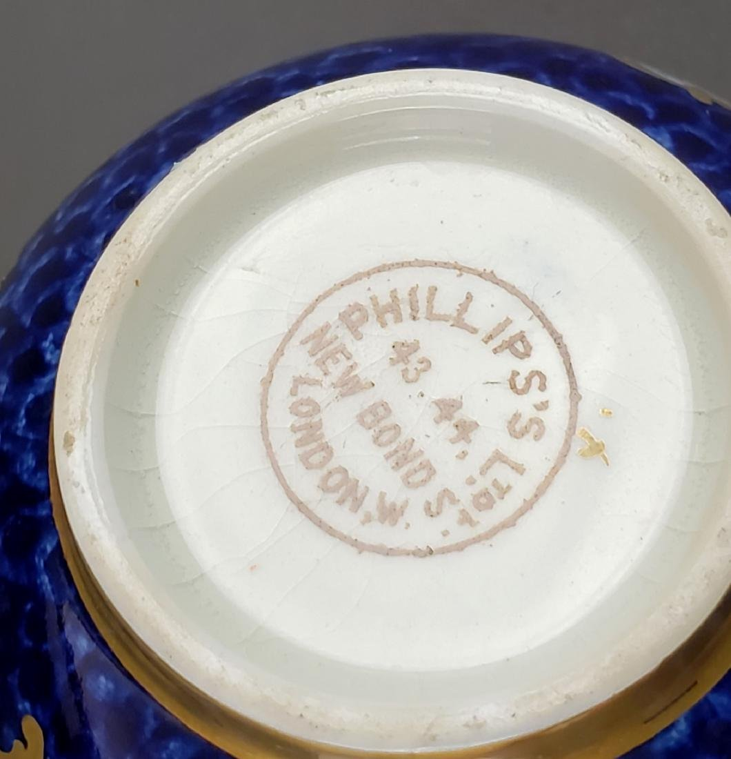 English Porcelain Cup and Saucer - 7