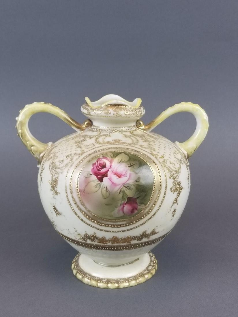 Royal Dunn Handpainted Porcelain Vase - 4