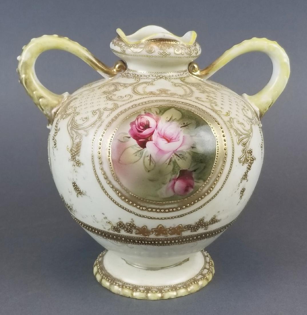 Royal Dunn Handpainted Porcelain Vase - 5