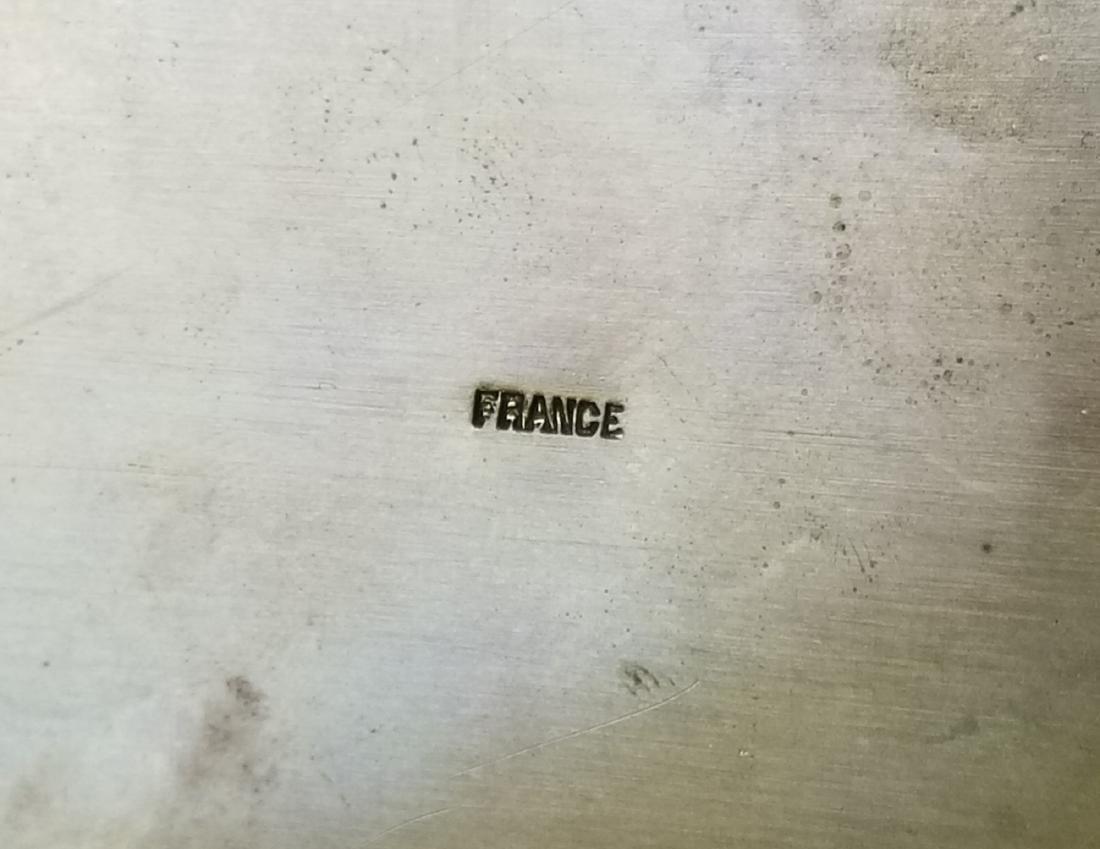 19th C. French Bronze & Enamel Jewelry Box - 4