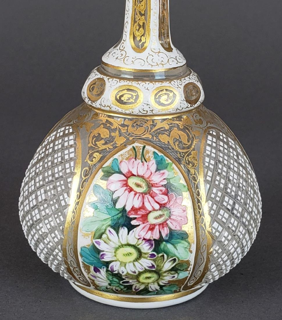 Bohemian Diamond Cut Vase - 2