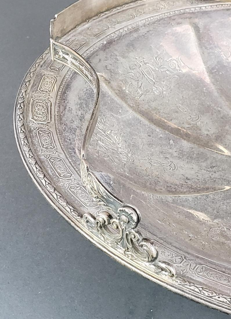 Sterling Silver Tray with Handle - 3