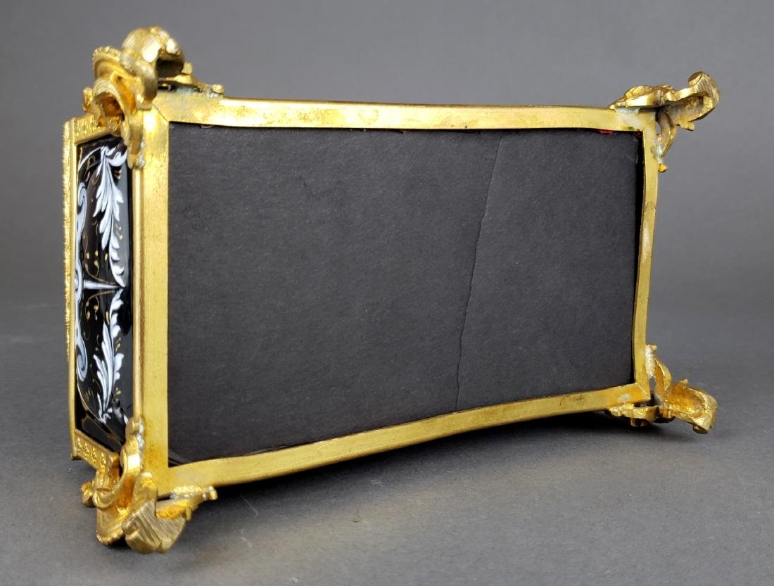 French Enamel Jewelry Box - 5