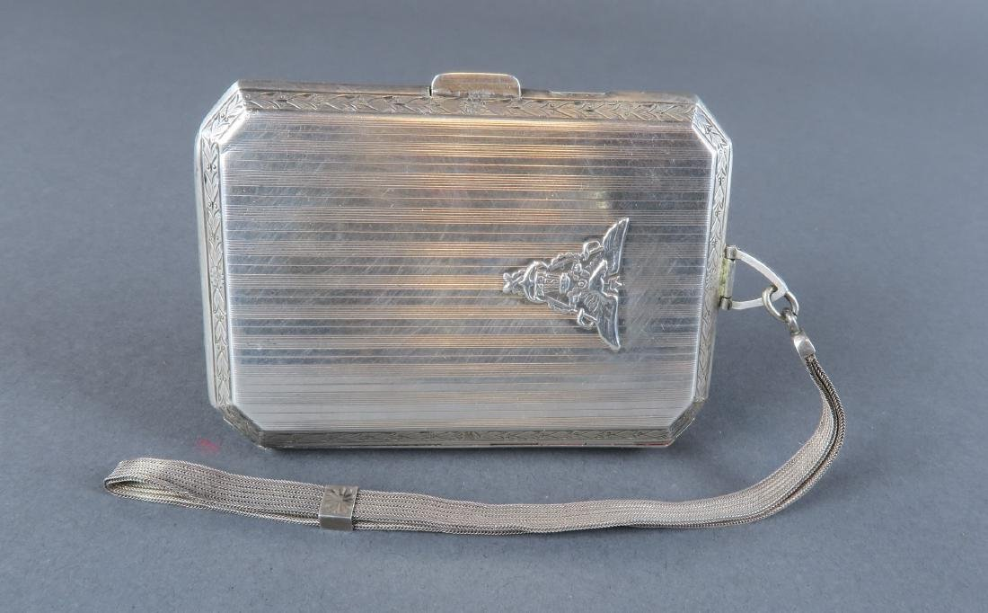 Magnificent 19th C. German Sterling Silver Powder Box - 2