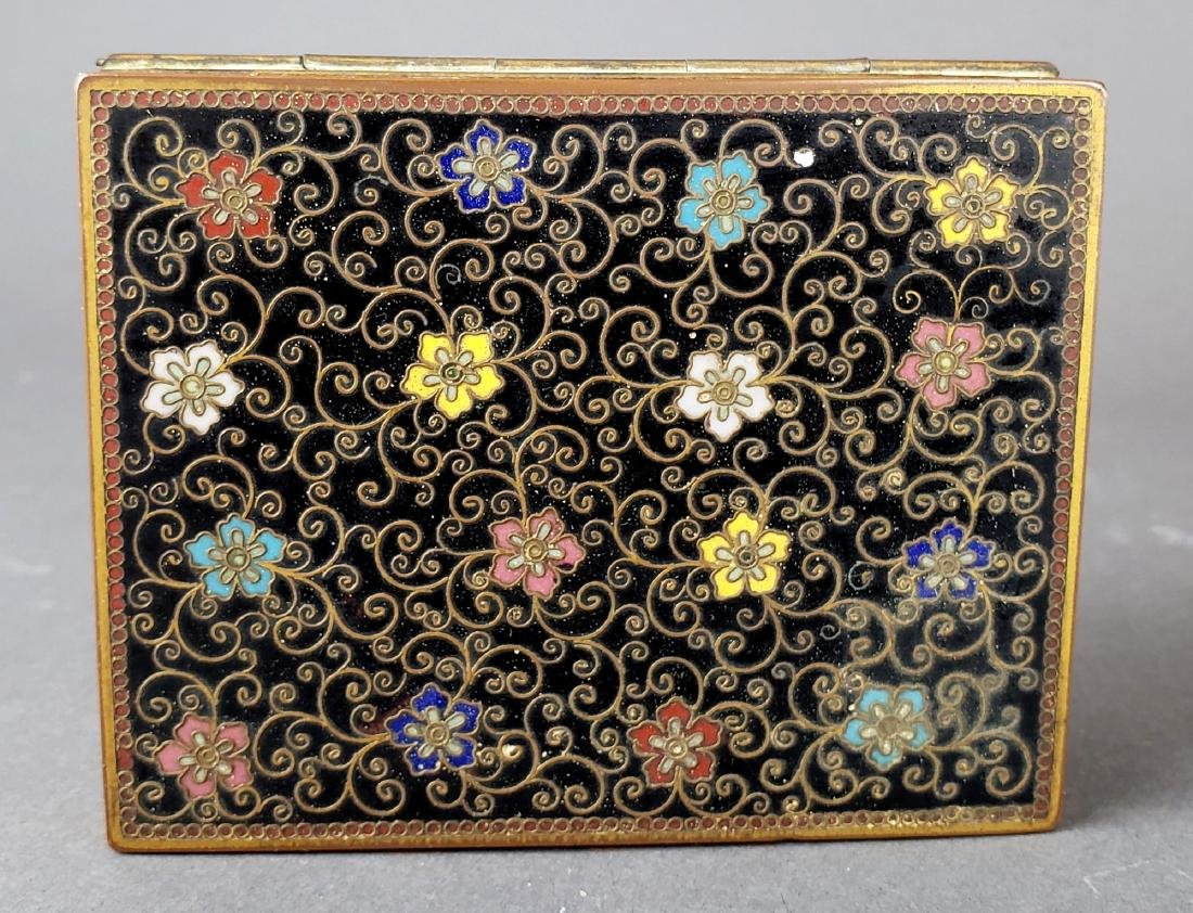 Chinese Enamel Jewelry Box - 2