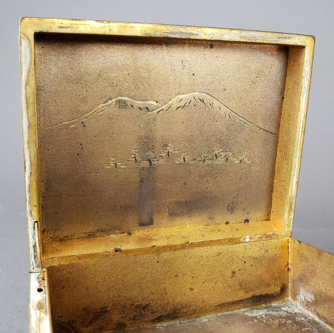 Chinese Enamel Jewelry Box - 4