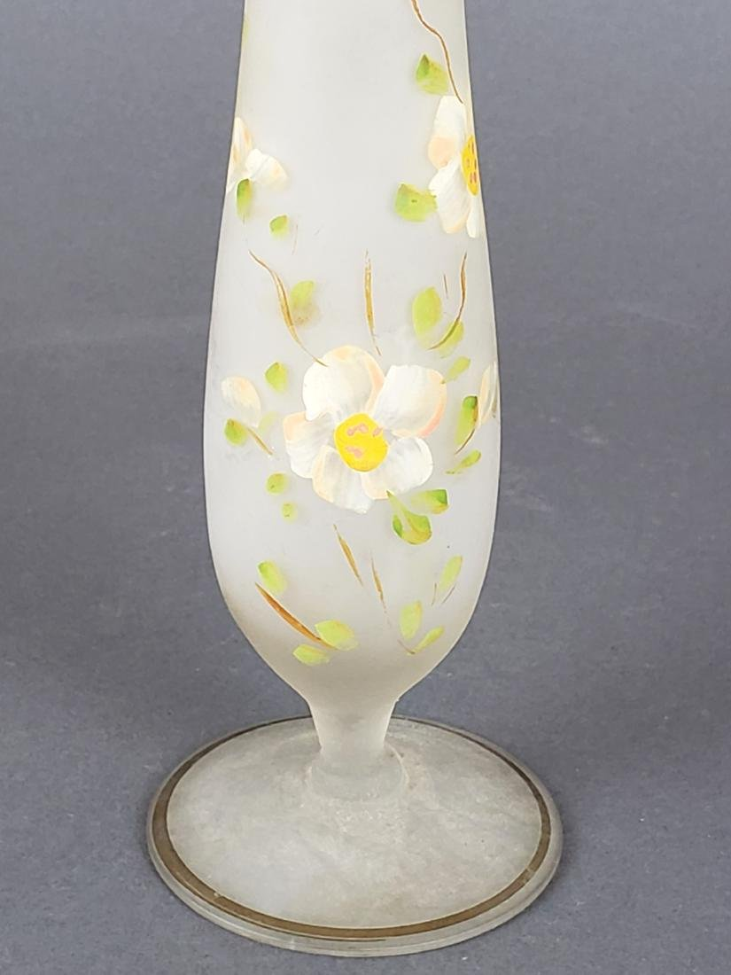 Cameo Art Glass Vase - 2