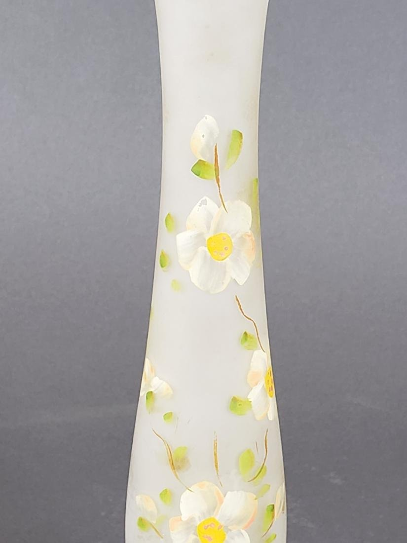 Cameo Art Glass Vase - 3