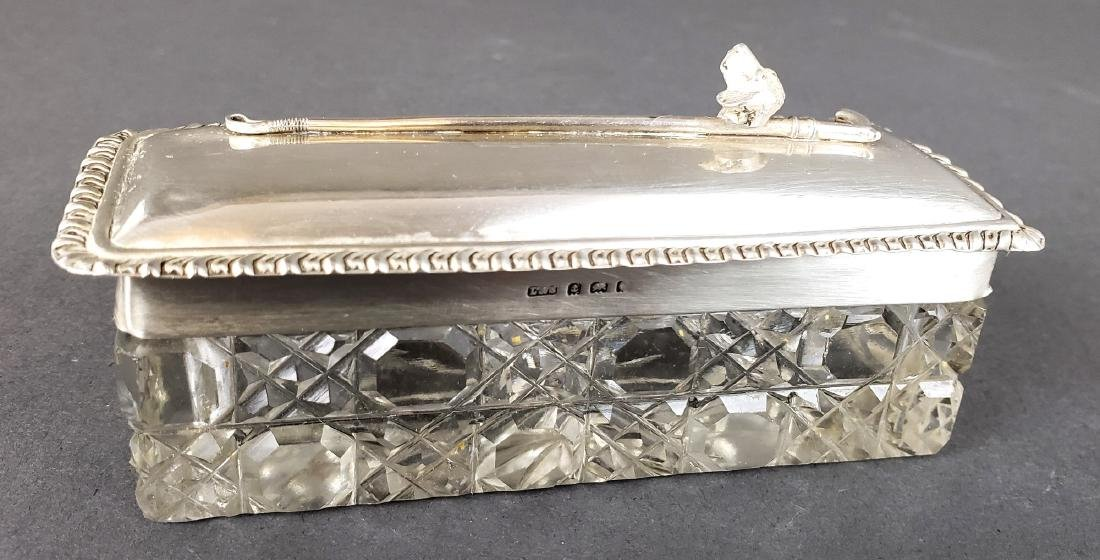 Sterling Silver and Crystal Box