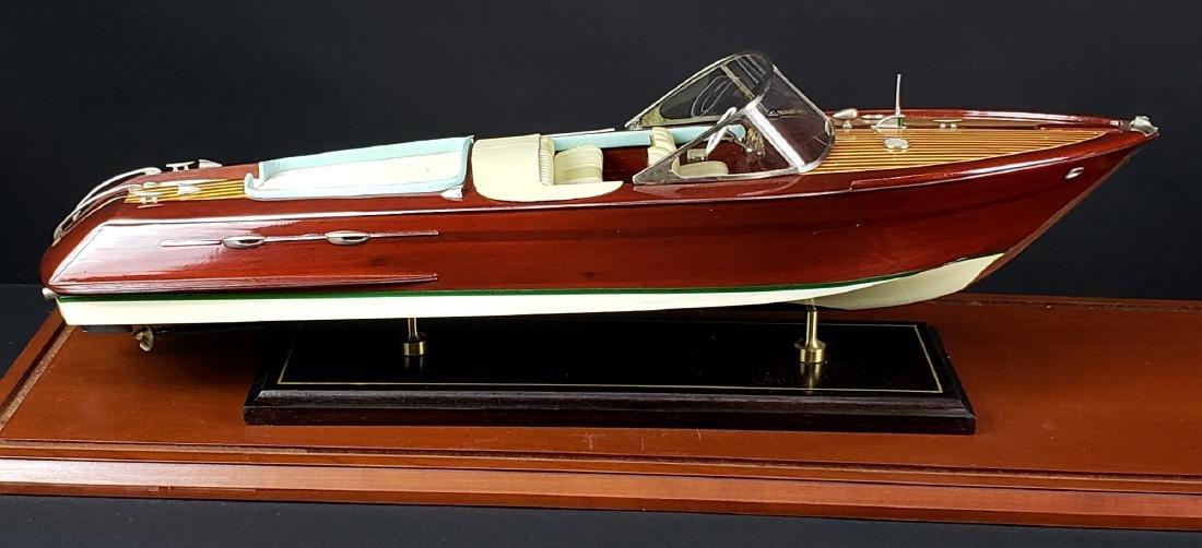 Craft Wooden Models Double Cockpit Barrel, C. 1940 - 2