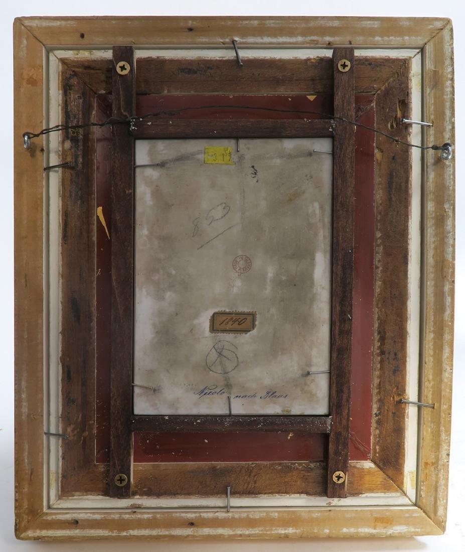 19th C Framed Berlin KPM Plaque - 4