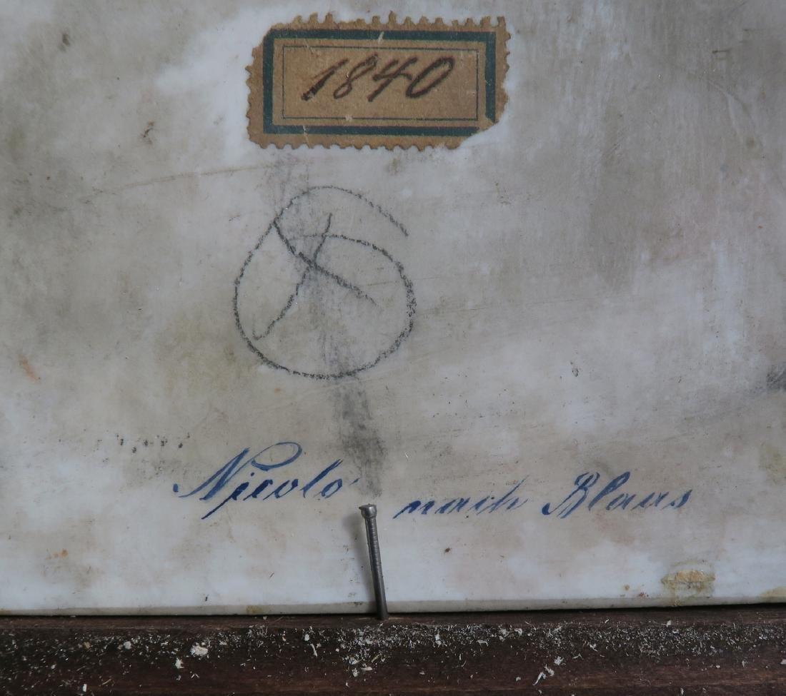 19th C Framed Berlin KPM Plaque - 5