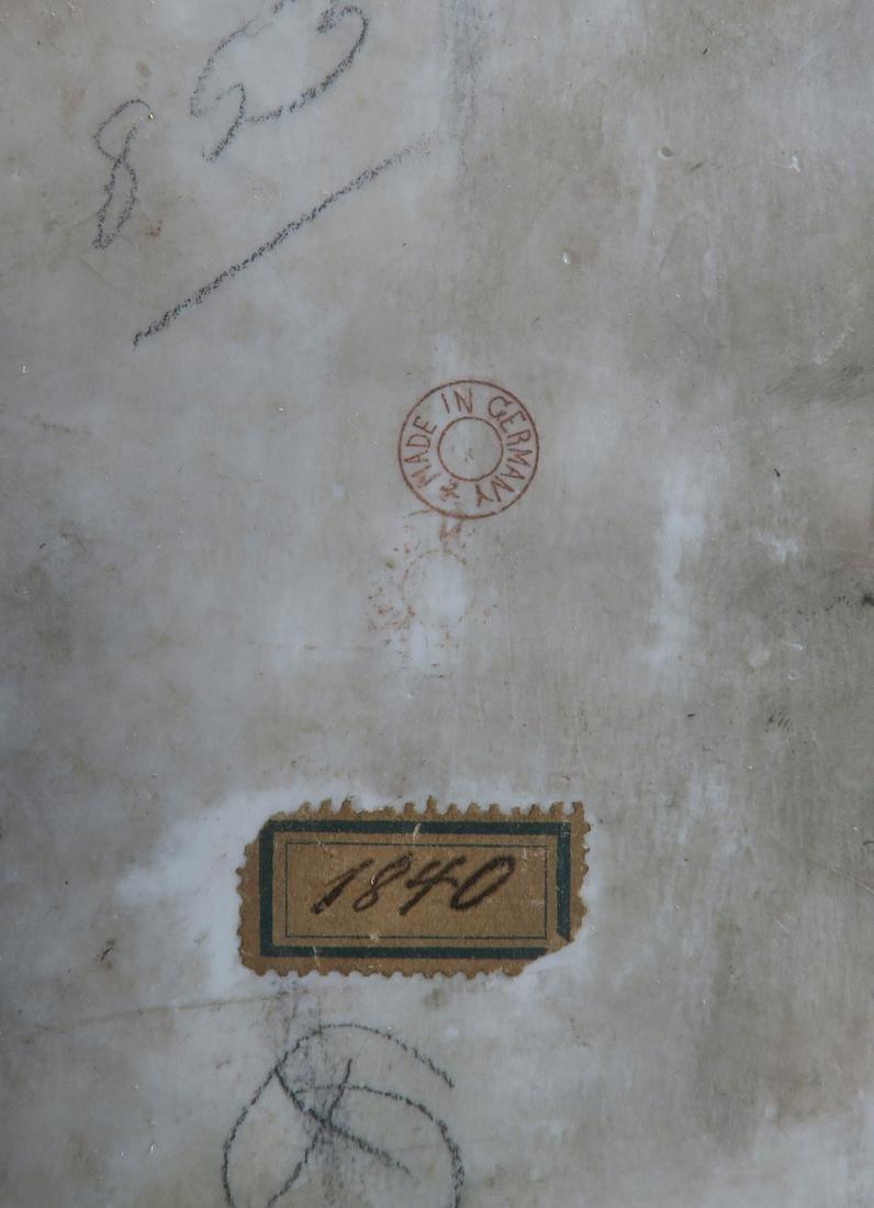 19th C Framed Berlin KPM Plaque - 6