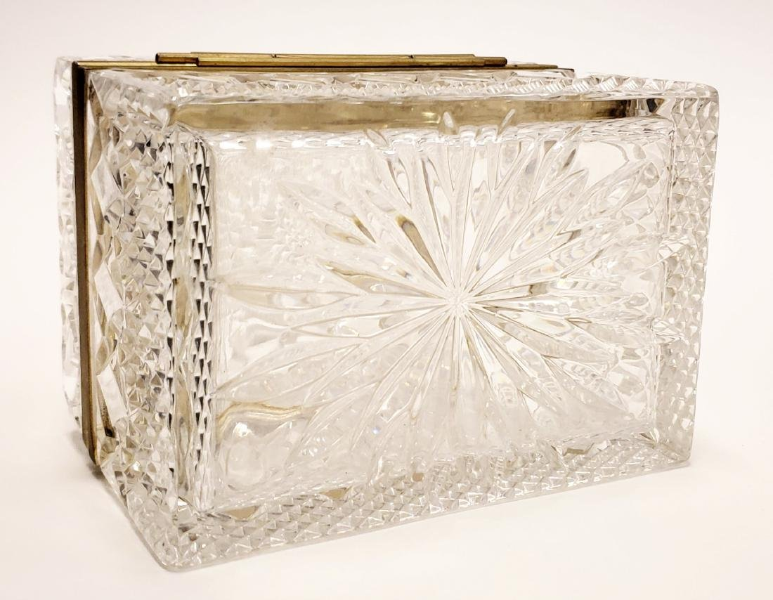 French Cut Crystal Jewelry Box - 5