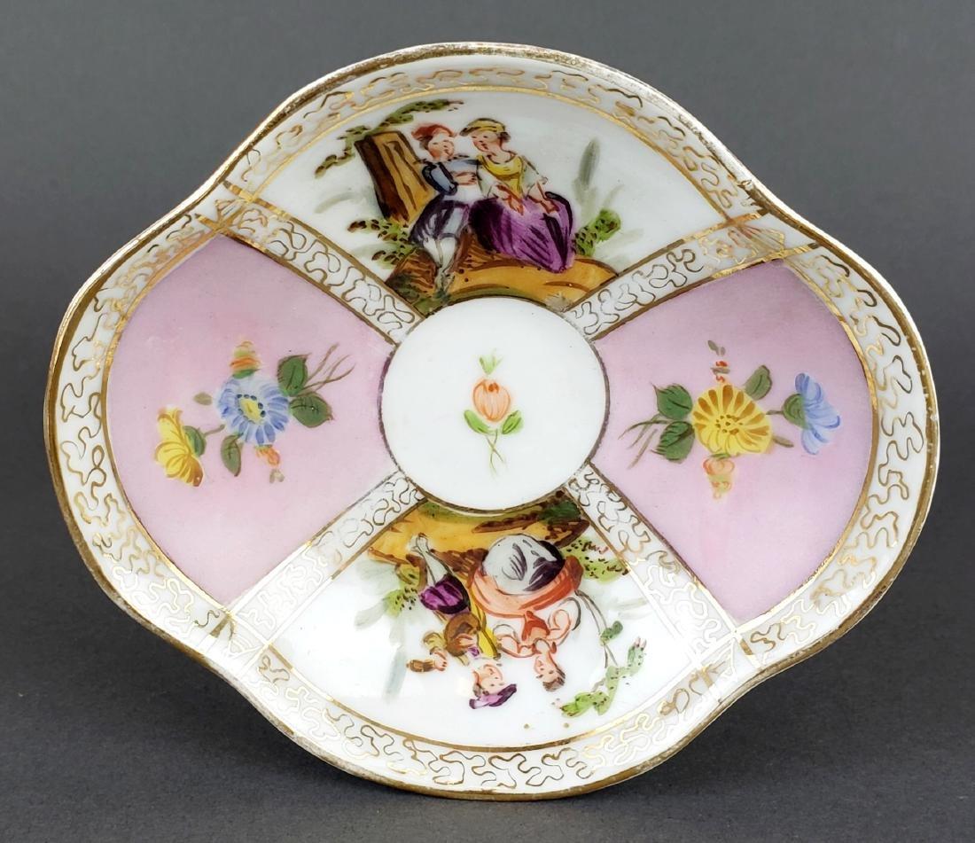 Dresden Porcelain Cup & Saucer - 2