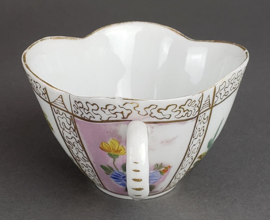 Dresden Porcelain Cup & Saucer - 5