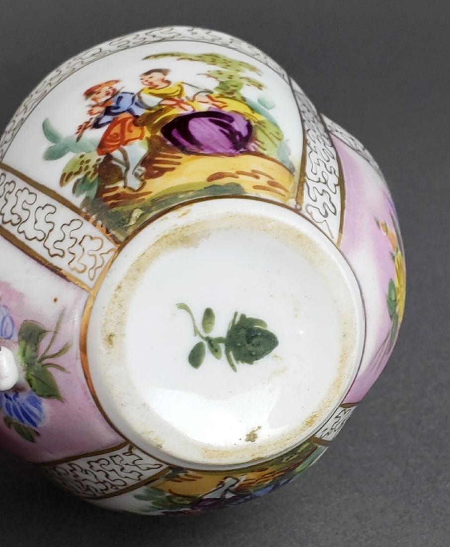 Dresden Porcelain Cup & Saucer - 6
