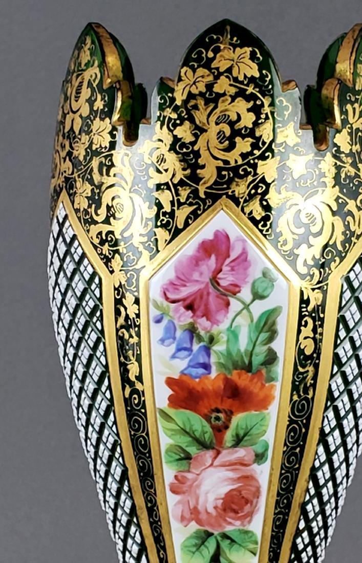 Large Bohemian Vase - 4