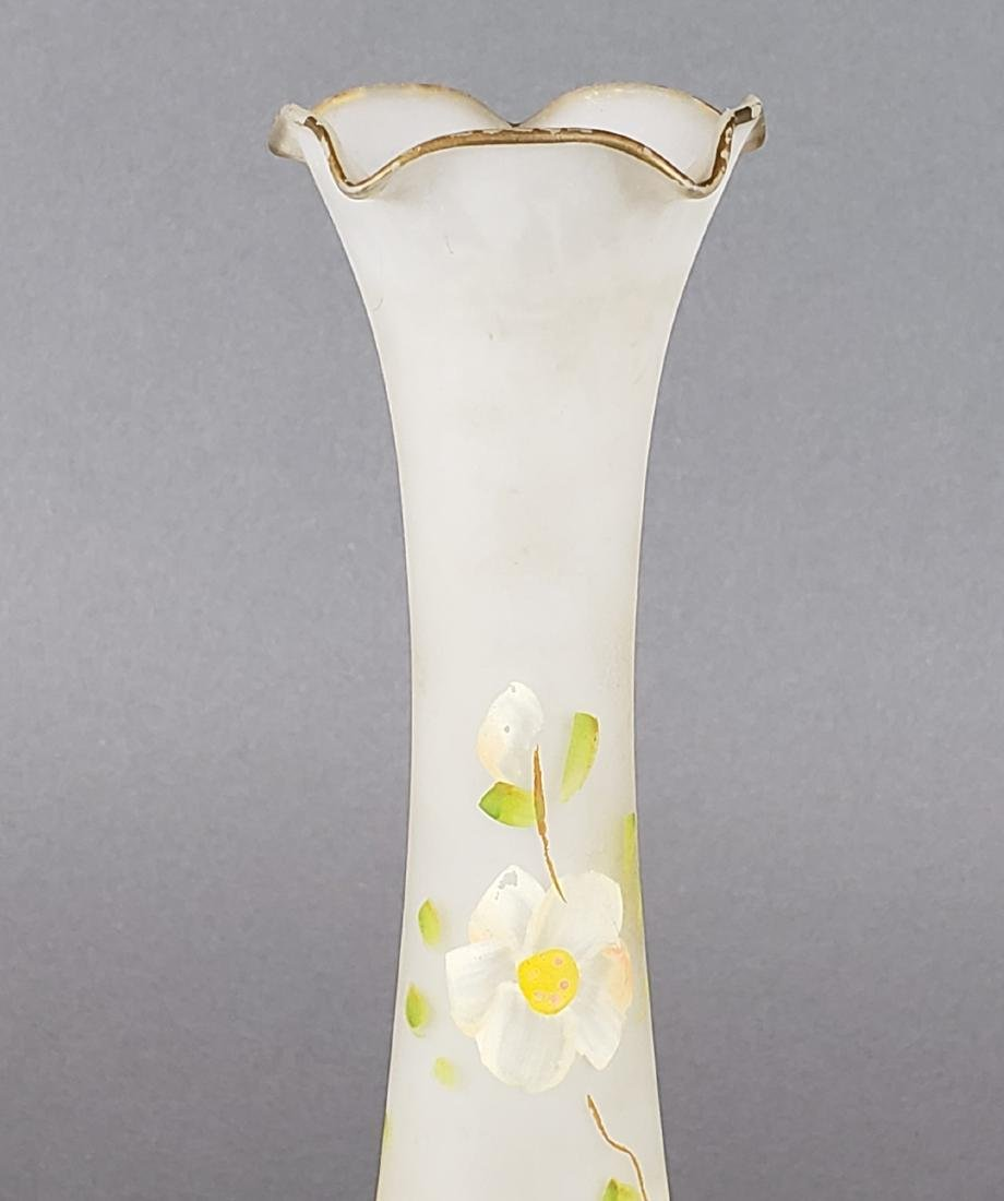 Cameo Art Glass Vase - 4