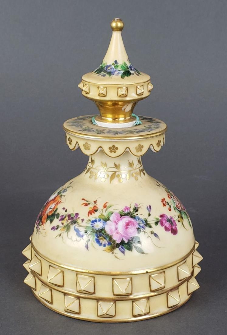 Paris Porcelain Perfume Bottle