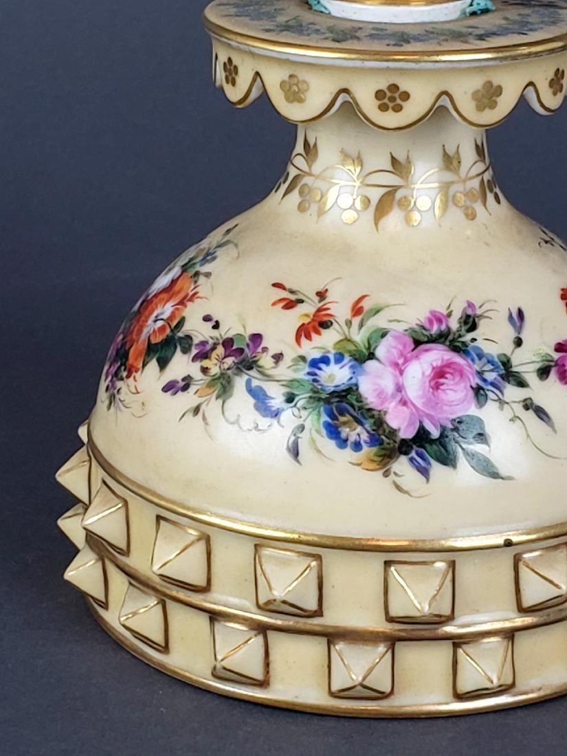 Paris Porcelain Perfume Bottle - 2