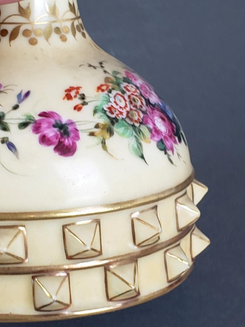 Paris Porcelain Perfume Bottle - 4
