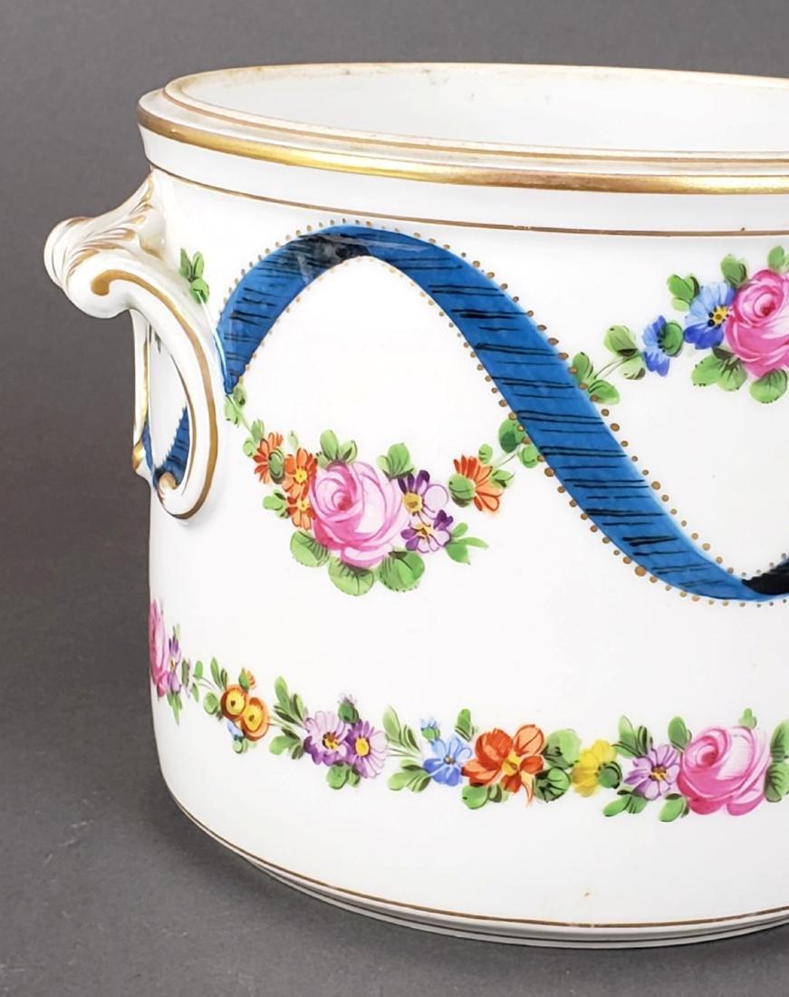 19th C. Dresden Porcelain Bowl - 2