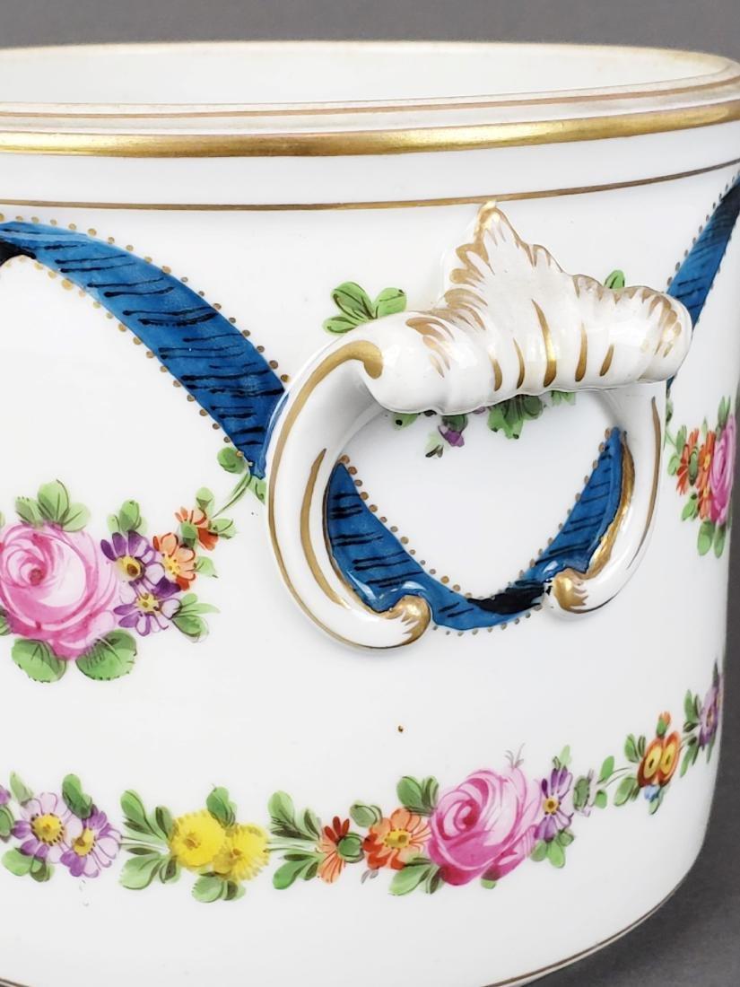 19th C. Dresden Porcelain Bowl - 3